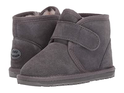 EMU Australia Kids Oddie (Toddler/Little Kid/Big Kid) (Charcoal) Kids Shoes