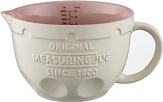 Mason Cash Innovative Kitchen Measuring Jug, Ceramic, Off- White, 20 x 10.5 x 15.5 cm