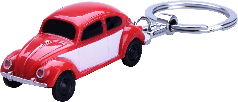 Vw SchlÜsselanhÄnger Mit Led Käfer Beetle Boxter Volkswagen Taschenlampe 02 Rot Baumarkt
