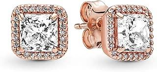 Best pandora rose earrings classic elegance Reviews
