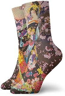 Calcetines casuales Calcetines tobilleros japoneses retro para mujer Calcetines de compresión de vestido corto para mujeres Hombres