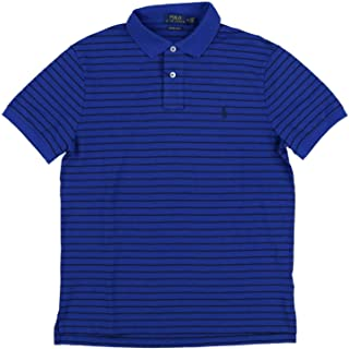 Polo Ralph Lauren Mens Custom Slim Fit Stretch Mesh Polo Shirt