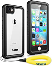 Temdan iPhone 7/8 Waterproof Case with Floating Strap Built in Screen Protector Transparent Cover Shockproof Snowproof IP68 Waterproof Case for iPhone 7&iPhone 8(2017)