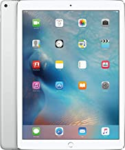Apple iPad Pro 32GB 9.7in Wi-Fi + Cellular Unlocked GSM 4G LTE Tablet PC - White/Silver (Renewed)