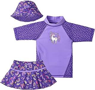 toddler girl rashguard swimwear