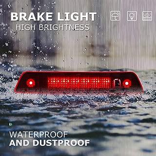 Fit for 2005-2010 Jeep Grand Cherokee High Mount Brake Light LED 3rd Brake Light Cargo Light (Red Lens)