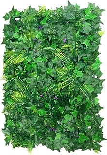 Hojas de césped artificiales para decoración de plantas