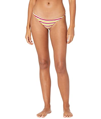 Volcom Stripe While Haute Skimpy Bottoms Women