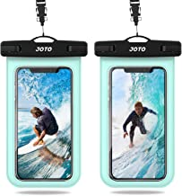 JOTO Waterproof Phone Pouch, IPX8 Universal Waterproof Case Underwater Cellphone Dry Bag for iPhone 11 Pro Max Xs Max XR X 8 7 6S Plus Galaxy up to 6.8
