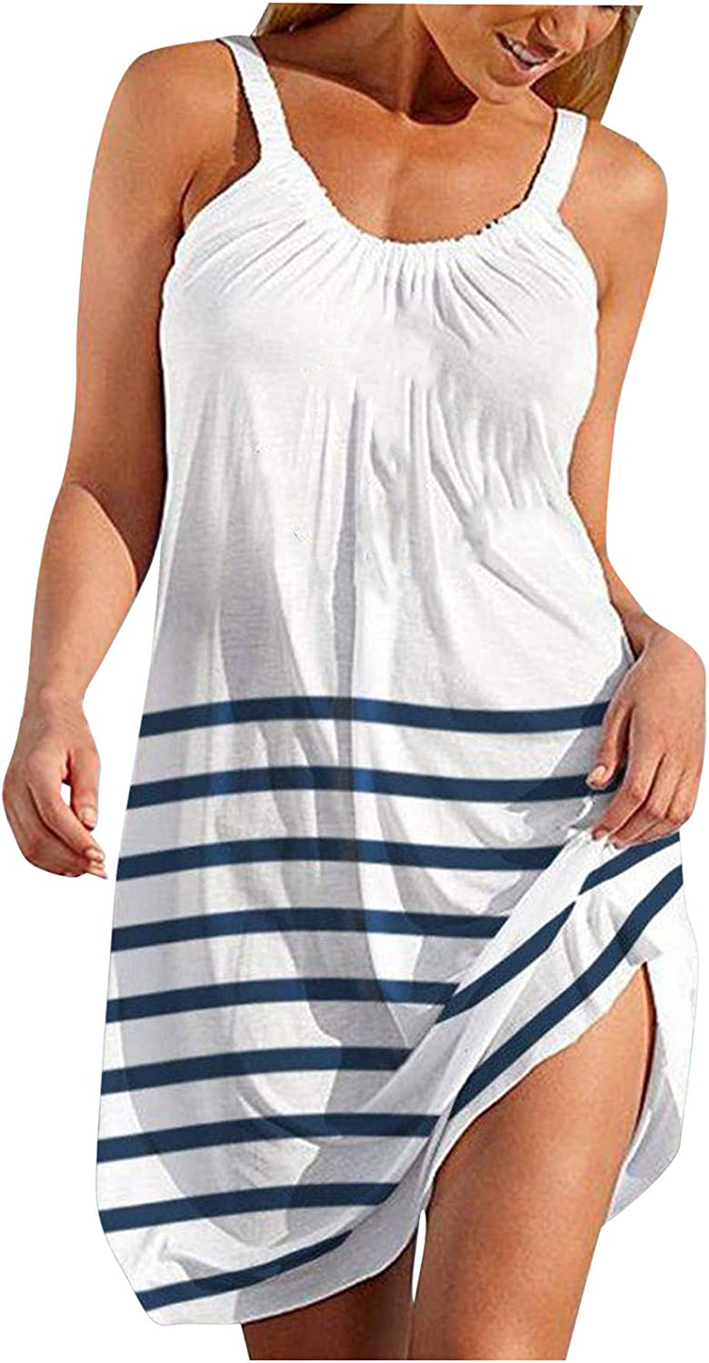 Summer Dresses for Women Casual Dress Sleeveless Amer Tank Max 76% Limited price sale OFF