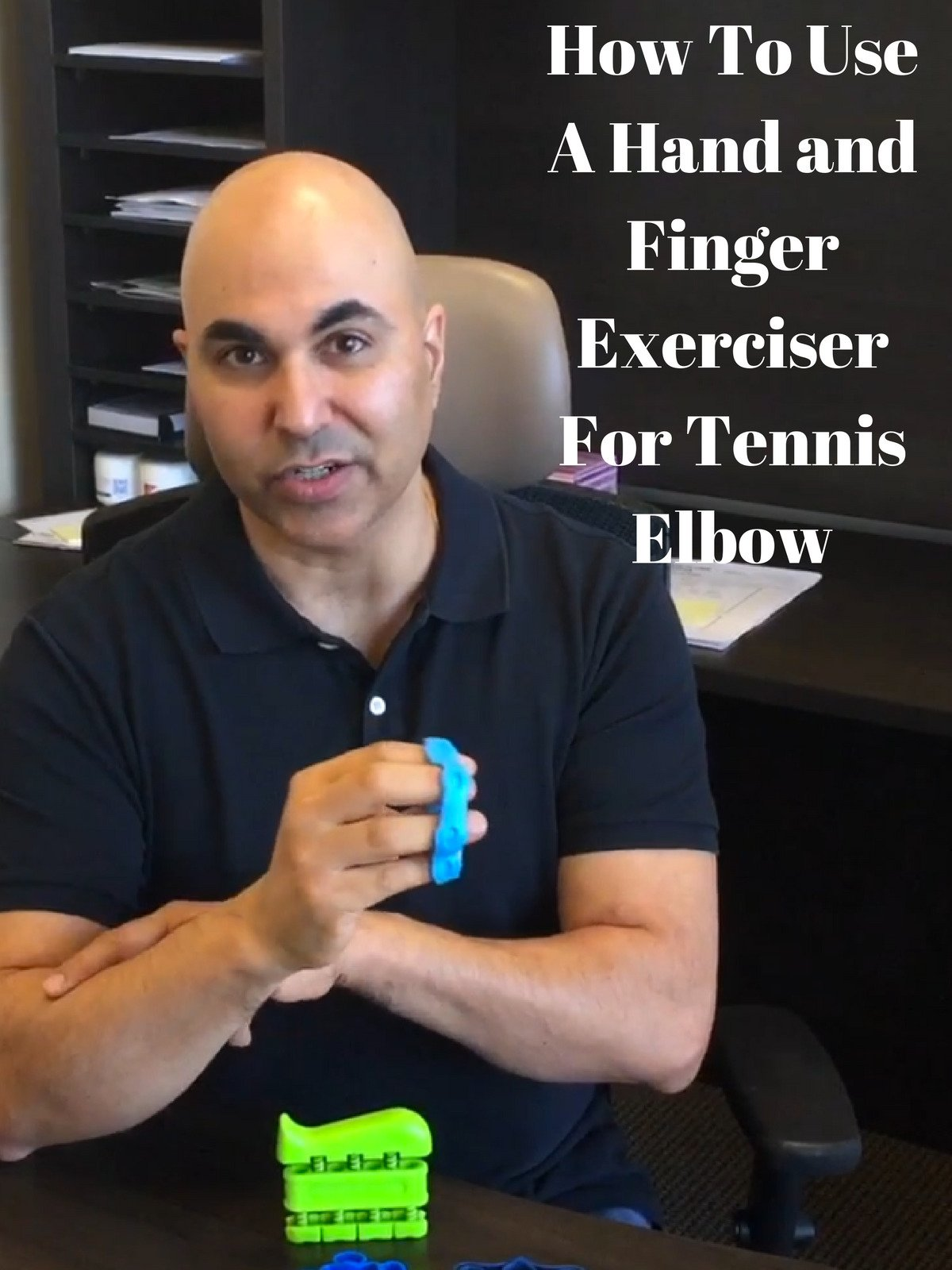 Hand Finger Exerciser Tennis Elbow