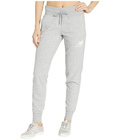 New Balance Essentials French Terry Sweatpants (Athletic Grey) Women