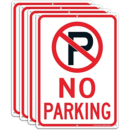 """IIT 35406 No Parking Sign 9 X 12/"""" for sale online"""