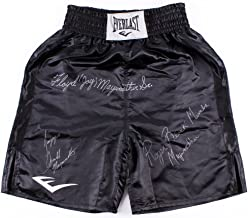 Multi-Signed Everlast Boxing Trunks Signed by Floyd Mayweather Sr, Roger