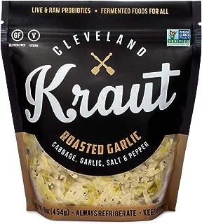 Cleveland Kraut Sauerkraut 4-pack (Roasted Garlic Sauerkraut)