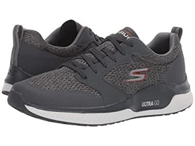SKECHERS Go Run Steady (Charcoal) Men