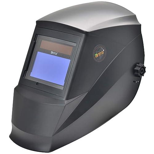 Antra AH7-360-0000 Solar Power Auto Darkening Welding Helmet with AntFi X60-