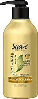 Suave Professionals Conditioner, Natural Infusion Ginger, 6 Fl Oz (Pack of 1)