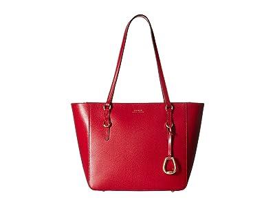 LAUREN Ralph Lauren Bennington Shopper Medium (Red) Handbags