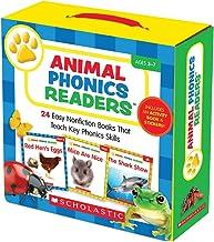 Animal Phonics Readers Parent Pack: 24 Easy Nonfiction Books That Teach Key Phonics Skills