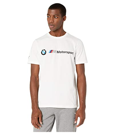 PUMA BMW MMS Logo Tee (PUMA White) Men