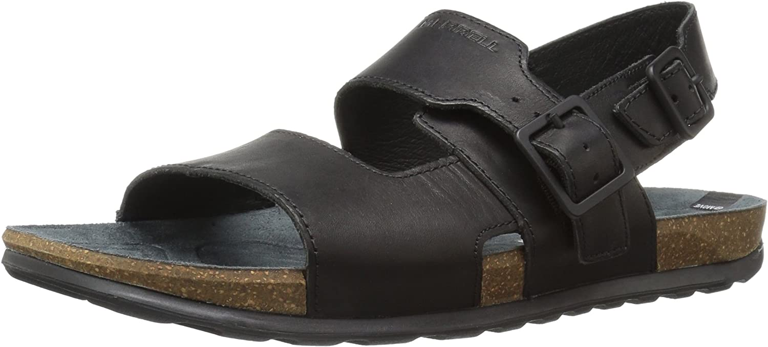 Merrell Men's Downtown Backstrap Buckle Open Toe Sandals