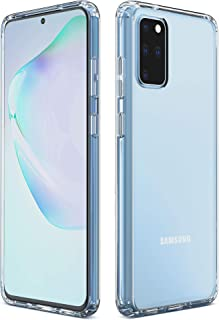 Imguardz Samsung Galaxy S20 Plus Case Clear, Slim Fit Hybrid TPU Protective Phone Case with Shock-Absorption Bumper Corner Drop Protection for Samsung Galaxy S20+ Plus 5G (2020 Release), Clear