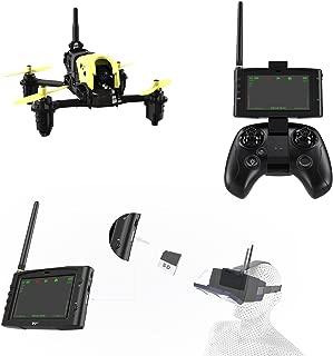 Hubsan H122D X4 STORM レーシングドローン 720Pカメラ付き2.4GHz 4CH 6軸ジャイロ5.8G FPVエキスパートモード アクロバティックなフライト 日本語説明書提供可 (アドバンス モード1  予備バッテリー1本同梱)