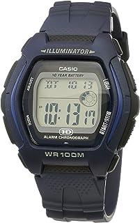 Casio Unisex Digital Dial Resin Band Watch - HDD-600C-2AV