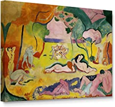 Niwo Art - Joy of Life, Henri Matisse Painting Reproduction, Canvas Wall Art Home Decor, Gallery Wrapped, Stretched, Framed Ready to Hang