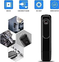 Mini Body Camera with USB Port DZFtech Body Spy Cam HD 1080P Wireless Portable Hidden Spy..