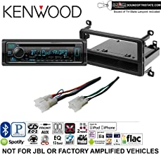 Kenwood KDCX303 Double Din Radio Install Kit with Bluetooth, CD Player, USB/AUX Fits 2001-2005 Toyota RAV4 and a SOTS Lanyard Included