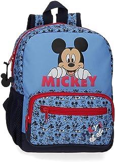 Mochila Mickey Moods Preescolar 28cm