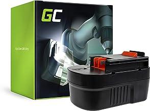 GC® (3Ah 14.4V Ni-MH cellen) Batterij Vervangend batterijpakket voor Black & Decker XTC143 Elektrisch gereedschap