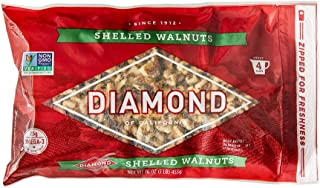 Diamond of California, Shelled Walnuts, 16 oz.