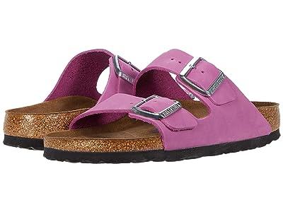 Birkenstock Arizona Soft Footbed (Purple Orchid Nubuck) Women