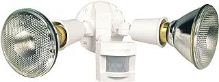 Heath Zenith SL-5408-WH 110-Degree Motion-Sensing Flood Security Light, White