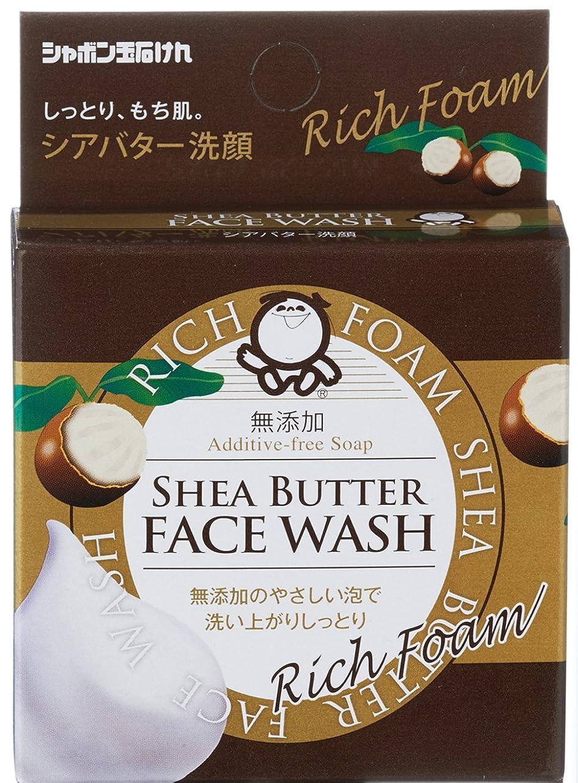 矢じり野球隠されたシャボン玉 シアバター洗顔 60g
