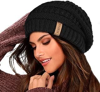 Knit Beanie Hats for Women Men Fleece Lined Ski Skull Cap...