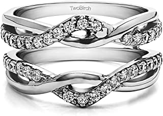 Feitengtd Rings Exquisite Womens Sterling Silver Ring Oval Cut Fire Opal Diamond Band Rings
