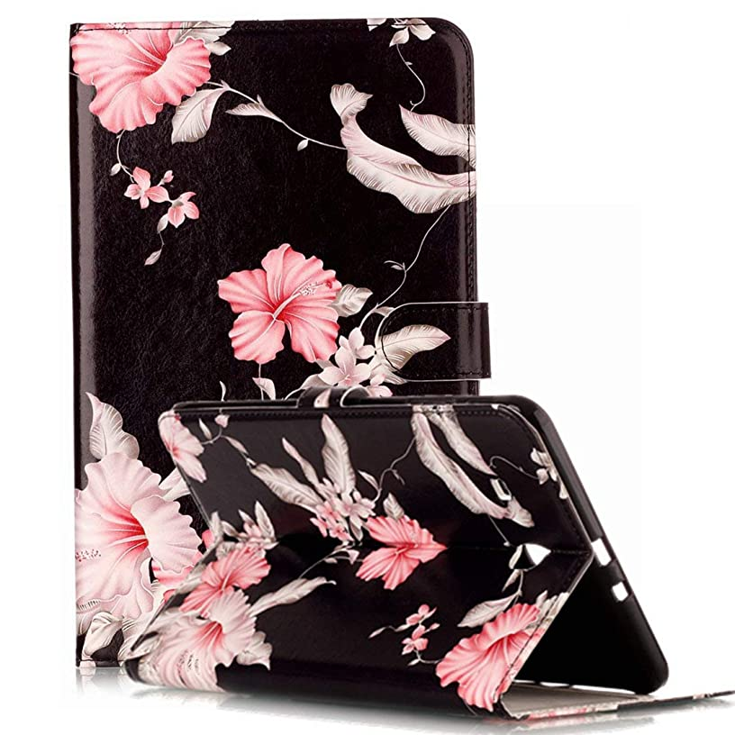 Samsung Galaxy Tab E 9.6 Case, ANGELLA-M Marble Design PU Leather Protective Cover Kickstand & Card Slots Case Samsung Galaxy Tab E 9.6