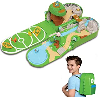 """Pokemon Carry Case Playset, Feat. Different Locations Within One Playset, with 2"""".."""