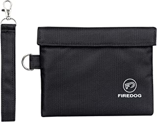 FIREDOG Smell Proof Bag, Carbon Lined Odor Proof Pouch 7x6