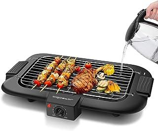 Aigostar Tasty - Gril sans Fumée, Barbecue Electrique d'intérieur. 2000W, Thermostat, Taille Compacte. Utilisation Avec de...
