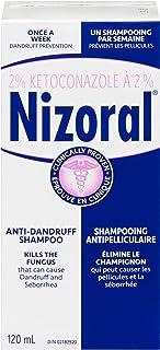 NIZORAL Ketoconazole 2% Anti-Dandruff Shampoo, 120 ml (Packaging may vary)