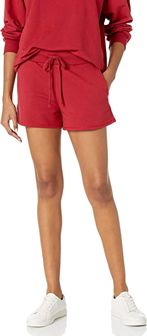 The Drop Women's Elaina Pull-On French Terry Sweatshort