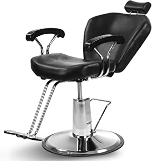 Artist Hand Hydraulic Reclining Barber Chair 360 Degrees Rolling Swivel Barber Chairs..