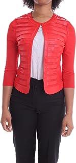 Luxury Fashion   H2o Italia Women EIFA22ROSSO Red Polyester Jacket   Spring-summer 20