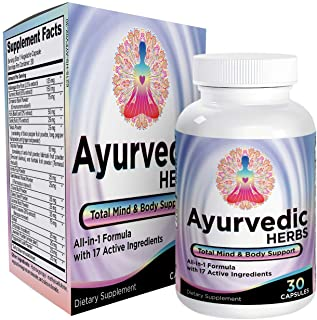Sponsored Ad - All-in-1 Ayurvedic Herbs/Supplements - Ayurveda Mind/Body/Spirit Herbal Formula Supplement/Pills