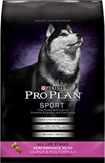 Purina Pro Plan High Protein Dry Dog Food, Sport Performance 30/20 Salmon & Rice Formula - 6 lb. Bag